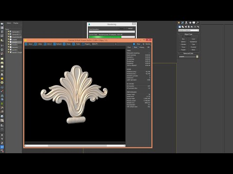 3ds Max - Tutorial - 3D CLASSICAL DECOR - Step2