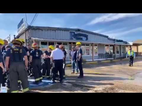 Fire Leaves Fisherman's Cove, Longtime Kenner Seafood Company, In Ruins (2/29/20)