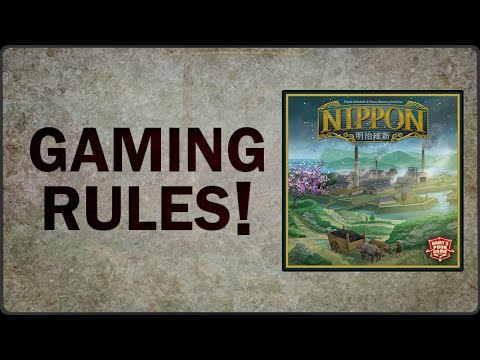 Nippon - Gaming Rules! How to Play Video