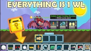 BUILDING WORLD CHEAPEST SHOP ON GROWTOPIA 2!! (RIP WLS) OMG!!   GrowTopia