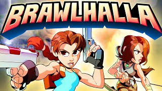 Brawlhalla - Tomb Raider Crossover Reveal Trailer