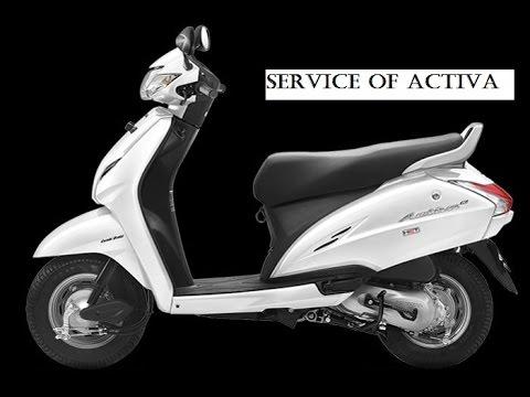 Servicing Of Honda Activa Youtube