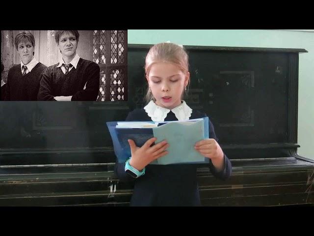 Изображение предпросмотра прочтения – МарияКарасёва читает произведение «Сказка. Близнецы» И.С.Тургенева