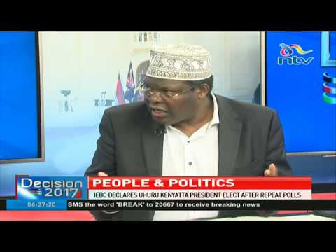 "'This election ""exercise"" was nothing but a mockery to the democratic process' - Miguna Miguna"