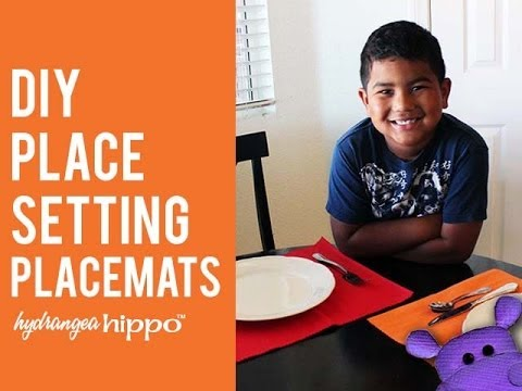 DIY Placesetting Placemats