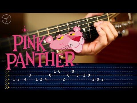La Pantera Rosa | Guitarra Tutorial TABS |  Theme Guitar SUPER FACIL
