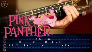 La Pantera Rosa | Guitarra Tutorial TABS |  Theme Guitar SUPER FACIL