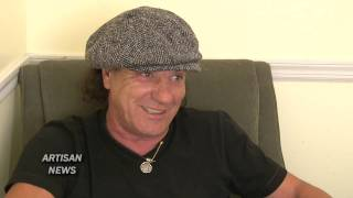 acdc singer brian johnson cheats death on racetrack