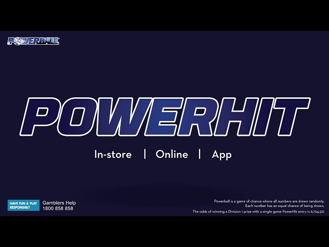 How to Play - Powerball PowerHit