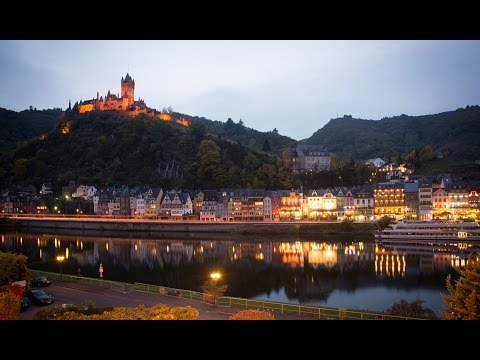 The Mosel River and castles of Germany