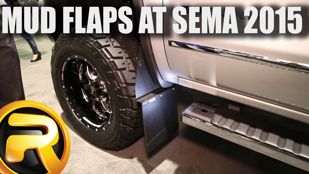 Husky Liners Kick Back Mud Flaps At Sema 2015 Youtube