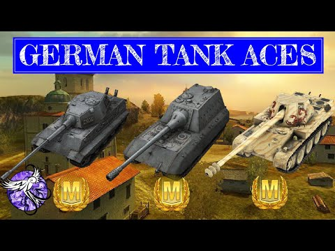 CASUAL GERMAN TANK ACES   JPE100, E75, And Skorpion G   World Of Tanks Blitz thumbnail