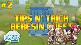 TIPS N' TRICK CEPET BERESIN QUEST DI LUNA ONLINE INDONESIA #2