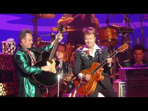 """Gene & Eddie"" Brian Setzer Orchestra@Academy of Music Philadelphia 11/17/17"