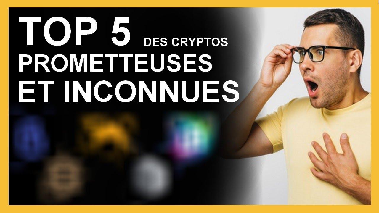 Crypto monnaie prometteuse dont PERSONNE ne parle : TOP 5 crypto monnaie 2021