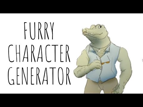 Let's Draw: Furry Character Generator