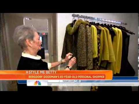 Bergdorf personal shopper is a star at 85