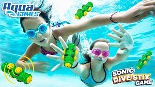 Sonic Dive Stix by Aqua Games