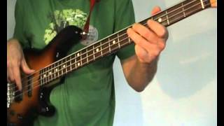 Sam the Sham and the Pharaohs -  Wooly Bully - Bass Cover