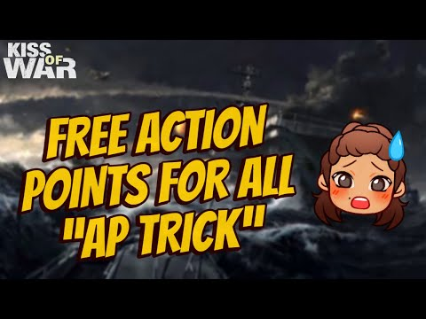 Free Action Points Trick (BEST 4 COUNTERATTACK) - Kiss of War