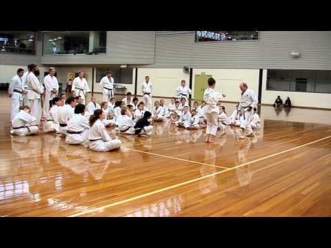 Jim Wood Shihan at All JKA National Seminar dated 7 March 2014