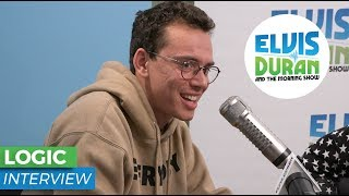 Logic Opens Up About Creating Positive Music   Elvis Duran Show