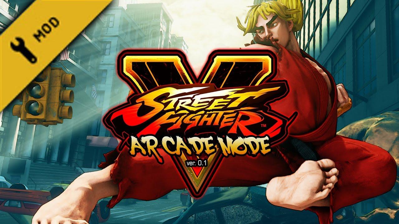 Long Play: Street Fighter V - Arcade Mode ver  0 1b (mod)