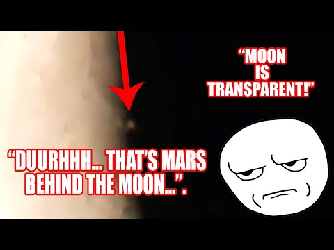 Re: Moon is Transparent - aka Flat Earther Tries to Challenge me and FAILS! thumbnail