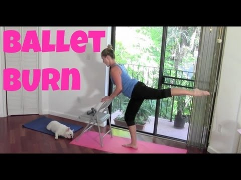 Full Length Barre Workout: Ballet Burn (cardio ballet, barre