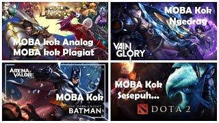 MOBA Kok Plagiat, MOBA Kok Batman, MOBA Kok Ngedrag, MOBA Kok Analog, MOBA Kok, MOBA Kok…