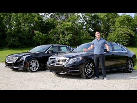 Luxury Sedan Fight 16 Mercedes S550 vs 16 Cadillac CT6