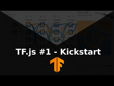 Machine Learning with JavaScript Tutorial 1 - Kickstart thumbnail