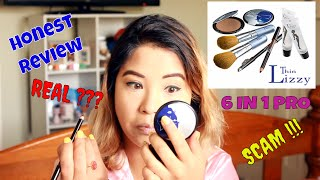 SCAM OR REAL !!!!!! Thin Lizzy 6 in 1 Professional Powder First Impression & Review ||Fistiifree||