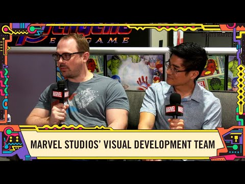 Marvel Studios visual development team talks Avengers: Endgame @ SDCC 2019!