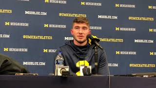 Shea Patterson reacts to 38-13 domination of Wisconsin