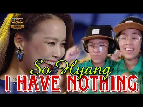 SO HYANG - I HAVE NOTHING (PHENOMENAL VOCALIST FROM SOUTH KOREA)  ||REACTION VIDEO