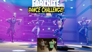 FortNite dance challenge in real life| MAUI GR