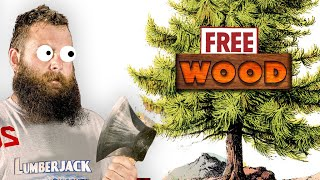 WE GOT WOOD - Professional Lumberjack 2015 Gameplay