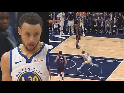 Stephen Curry Wanna Murder The Rim With Angry Dunk Goes Crazy Vs