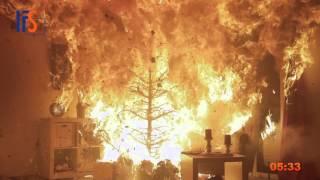 IFS - Weihnachtsbaumbrände - sind vermeidbar