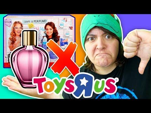 CASH Or TRASH? Testing 3 Toys R Us Perfume Craft Kits