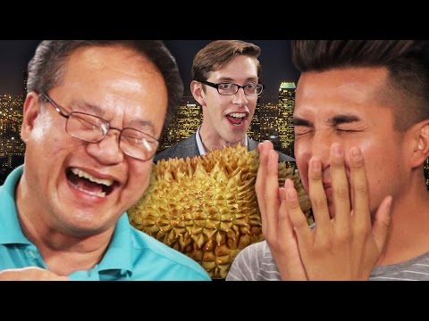 People Try The Smelliest Fruit LIVE