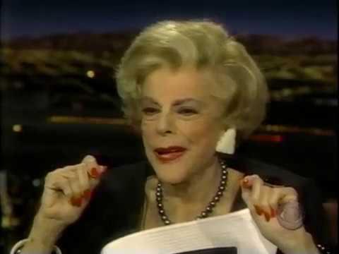 Virginia Graham, Tom Snyder Interview, 1998 TV