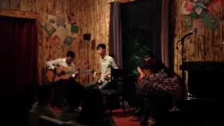 Tình như mũi tên - (El Choclo, Kiss of Fire) - Guitar Gỗ Band @ QUÁN CÂY