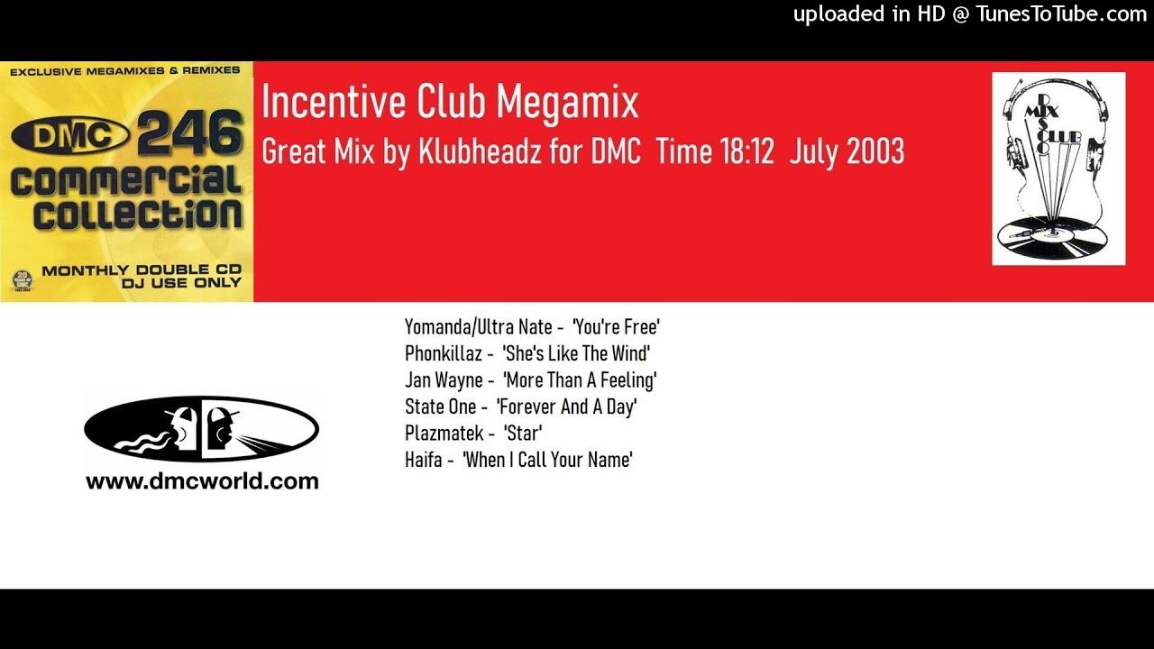 Incentive Club Megamix (DMC Mix by Klubheadz July 2003)