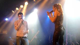 Melanie C / David Pfeffer First Day Of My life Munich 15.12.11