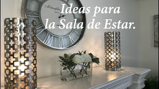 Gambar cover IDEAS PARA DECORAR LA SALA DE ESTAR Y LA CHIMENEA/DIY/DECORACION ?