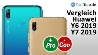 Huawei Y6 2019 vs. Huawei Y7 2019   Vergleich / Test (deutsch)
