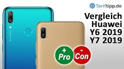 Huawei Y6 2019 vs. Huawei Y7 2019 | Vergleich / Test (deutsch)
