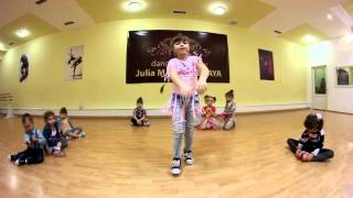 Baby(дети от 4 до 6 лет)Хип-хоп.Школа танцев Юлии Малиновской StepByStep